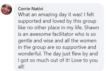 Corries' comment testimonial on DDD may 22
